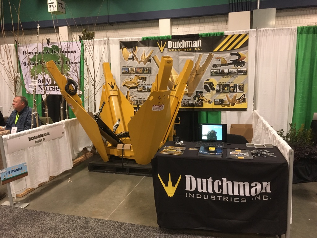 Dutchman booth at Northern Green